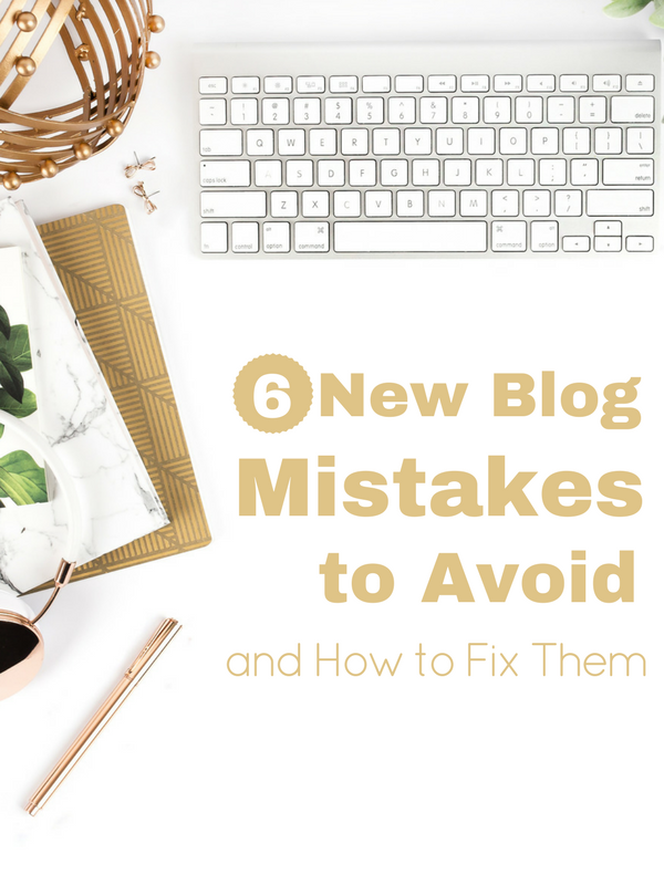Are you making these new blog mistakes? Find out how to fix them!